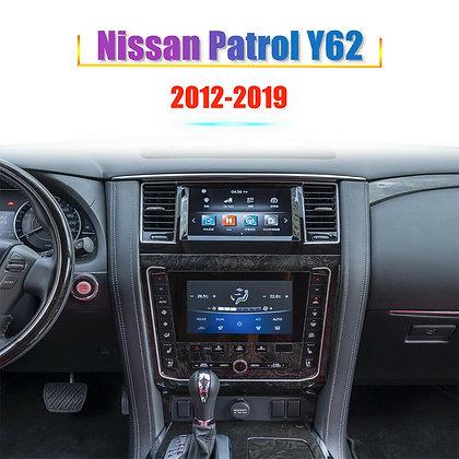 """8"""" 4+32GB Tesla Style Car GPS Radio Carplay For Nissan Patrol Y62 2012-2019"""