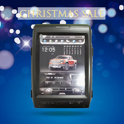 """12.1"""" Vertical Screen Car GPS Radio Navigation 2+32GB For Ford F150 2010-2013"""