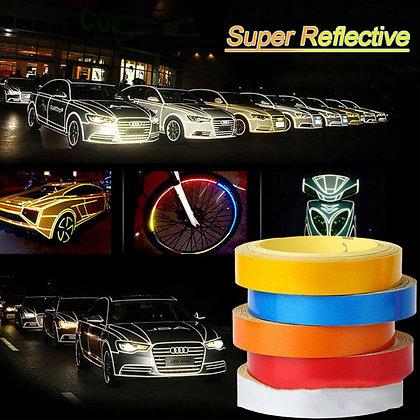 Universal Reflective Sticker Body Stripe Tapes Self-Adhesive for Car SUV 5cm*5m