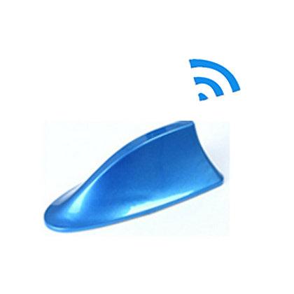 Shark Fin Stylish Auto Antenna For Radio Signal Aerials Car Decoration Blue