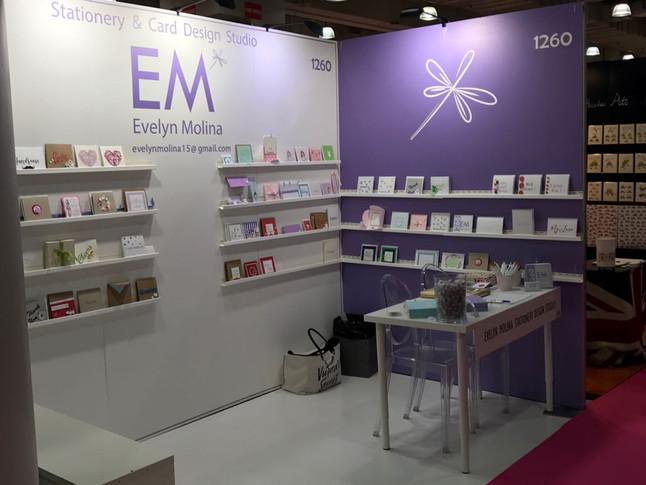 E.M. design studio exhibit in NSS