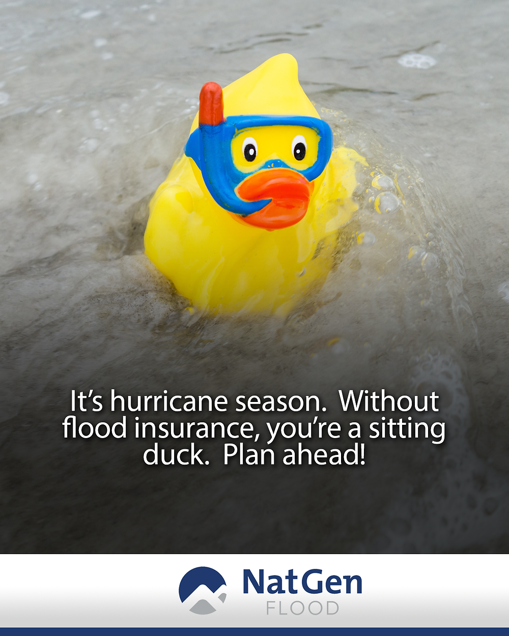 It's hurricane season. Without flood insurance, you're a sitting duck.