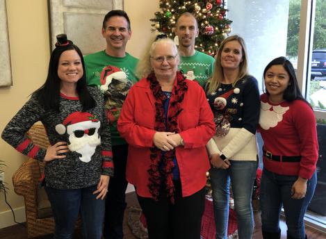 Tacky Christmas Sweater Gang