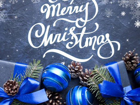 Merry Christmas! and Holiday Hours