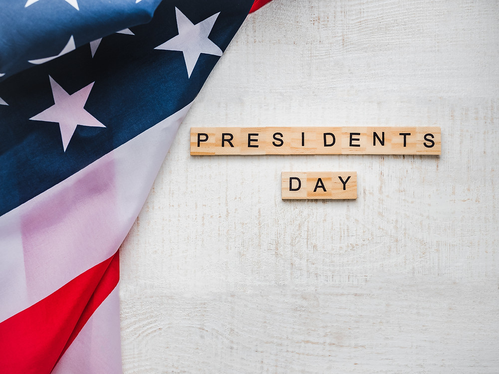 President's Day 2019 - with American Flag