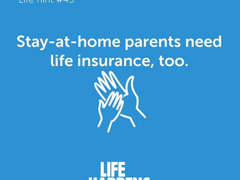 Life Hint #43 for Stay-at-Home Parents...