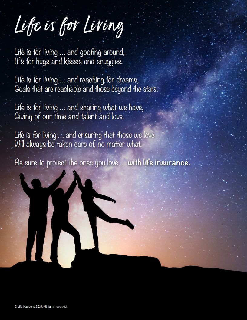Life is for Living - Insure Your Love - Fuller Insurance - Santa Rosa Beach Florida