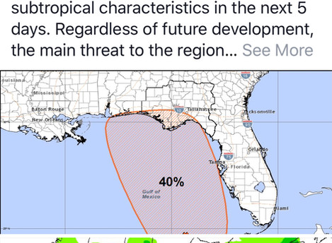 Special Tropical Outlook - Gulf of Mexico