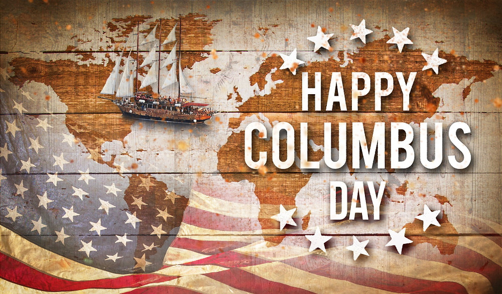 Happy Columbus Day 2021 from Fuller Insurance in beautiful Santa Rosa Beach Florida - Your Local Trusted Choice Insurance Agent for SoWal South Walton and 30A