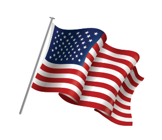 American Flag - BlueMedicare Patriot PPO Plan now available in Okaloosa, Walton, and Bay Counties for 2022