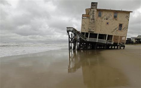 Beach Home Storm Surge