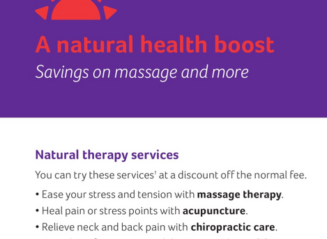 Aetna Health Plans - A Natural Boost