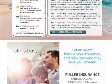 BeLocal Walton County - Fuller Insurance - Beach Safety