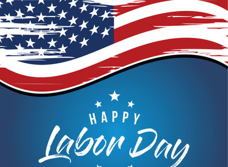 Closed Monday, September 7th for Labor Day Holiday