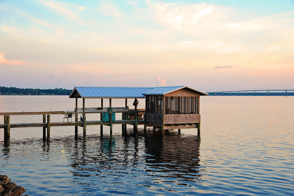 A beautiful Florida Dock on the Bay