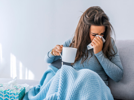 Cold, Flu, or COVID19 Infographic