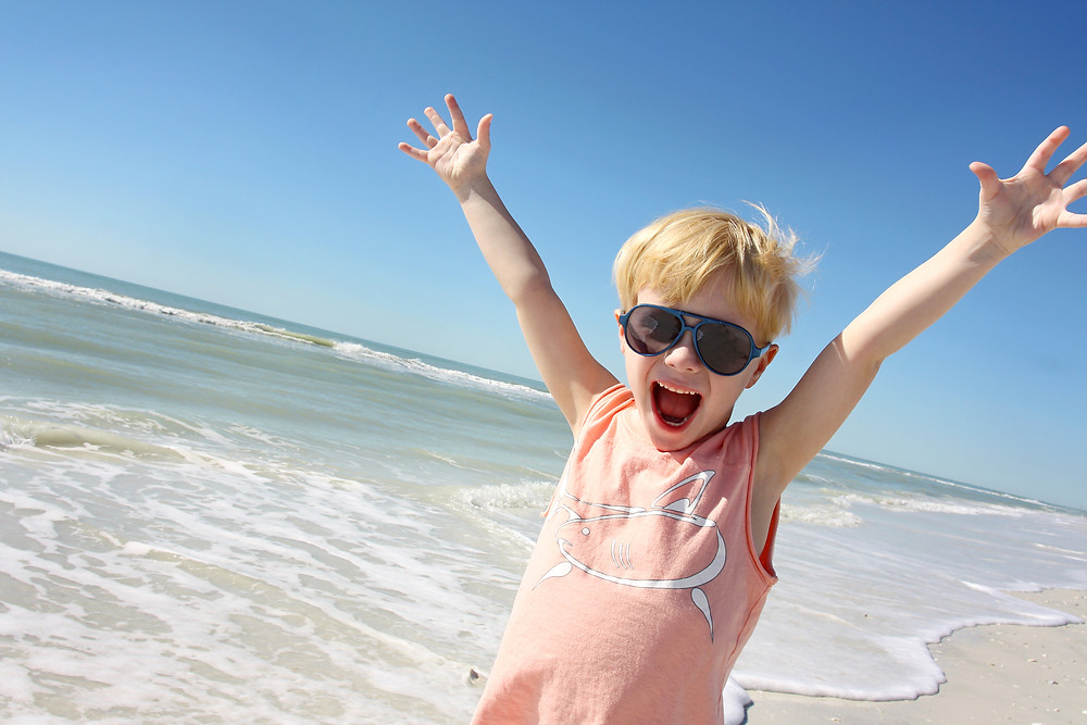 Spring Break Boy - Fuller Insurance - Santa Rosa Beach, Florida