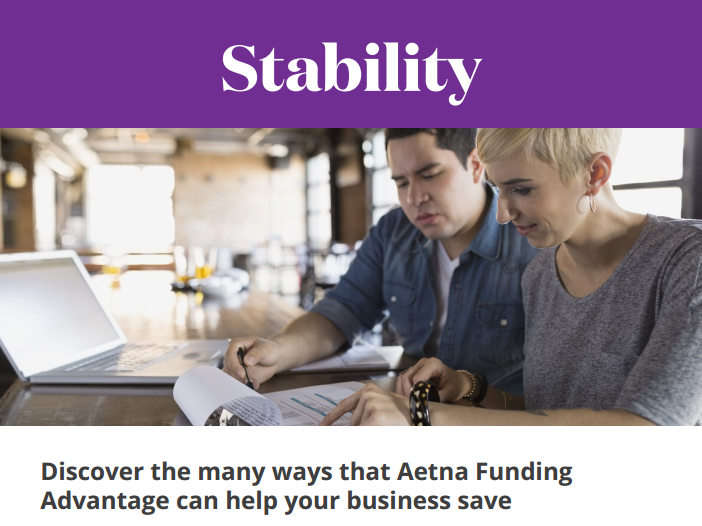 Choose Aetna Funding Advantage for your Small Group Health Coverage
