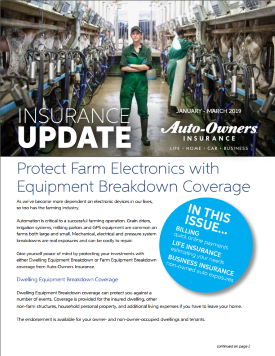 Auto-Owners Winter 2019 Newsletter