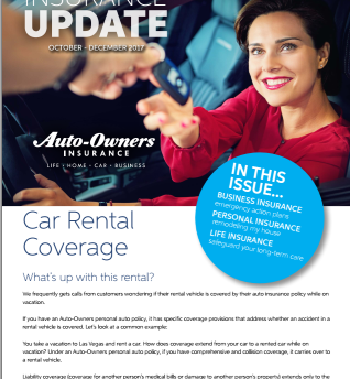 Auto-Owners Fall Insurance Update