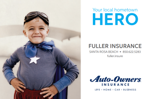 Fuller Insurance is your local hometown HERO