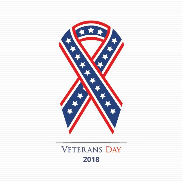Closed for Veterans Day - 2018