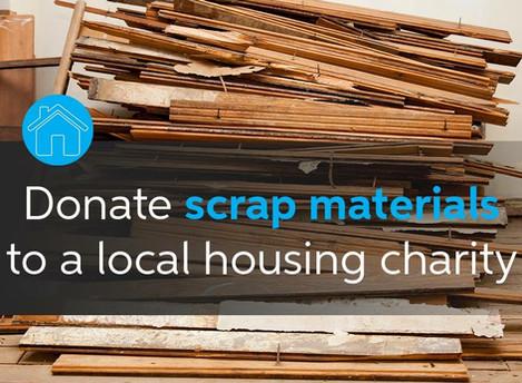 Donate Scrap Building Materials #Habitat
