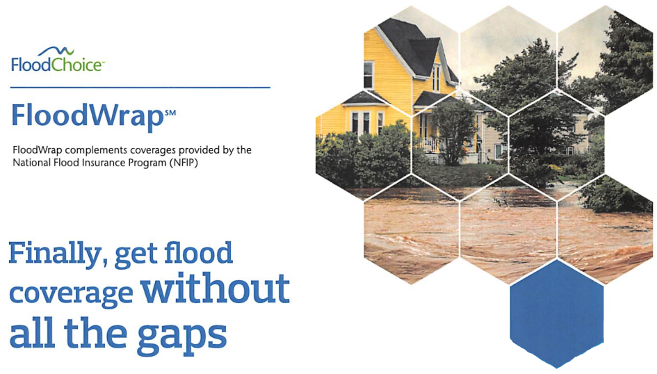 Flood Choice Flood Wrap - fill the gaps in your flood insurance policy
