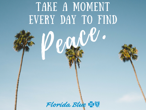 Take A Moment To Find Peace