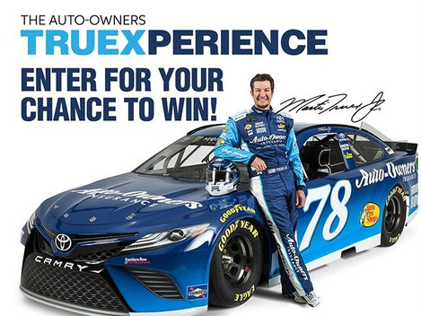 Win A Day With Martin Truex, Jr! #NASCAR