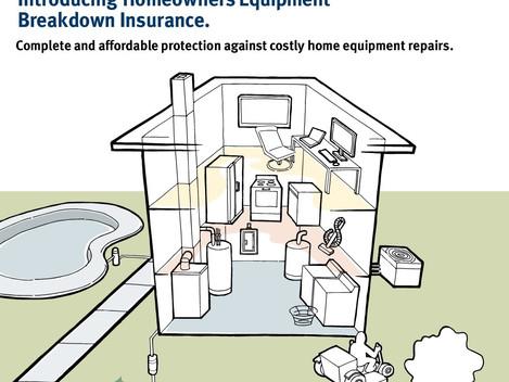 Homeowners Equipment Breakdown Insurance