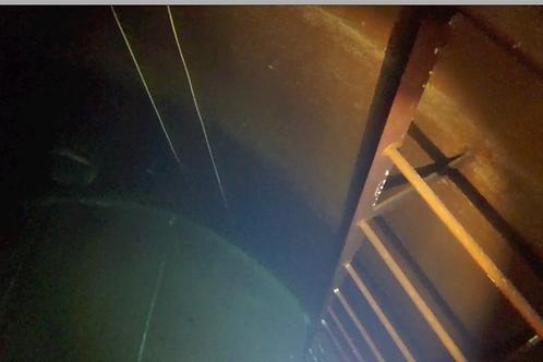 Underwater Inspection Video