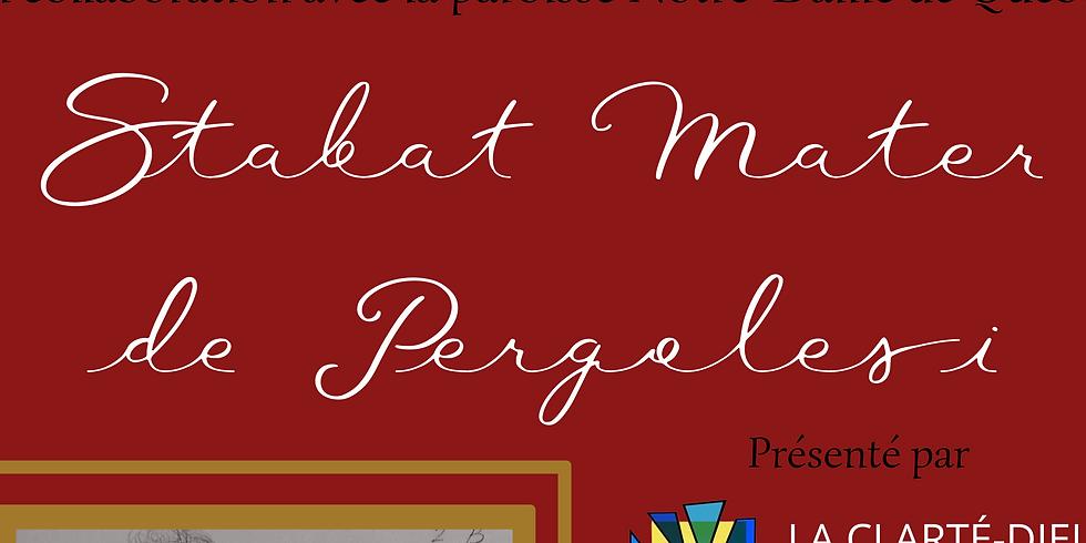 Stabat Mater de Pergolesi