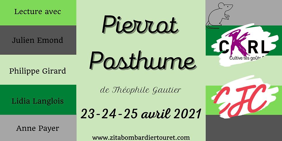 Pierrot Posthume - Lecture publique