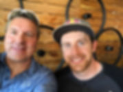 Paul Molenberg with Danny MacAskill