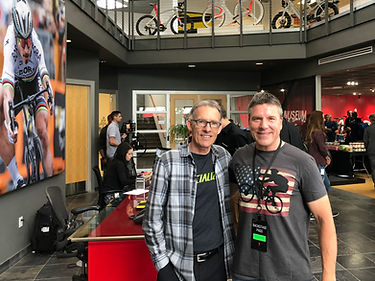 Paul Molenberg with Ned Overend