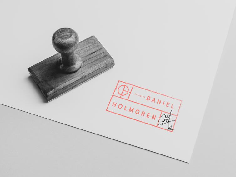 Logotype treatment