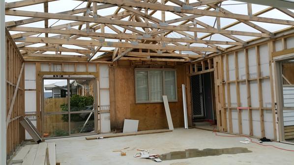Papakura Extension - During Renovation (