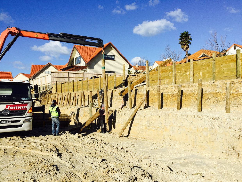Gulf Harbour Development - Initial work