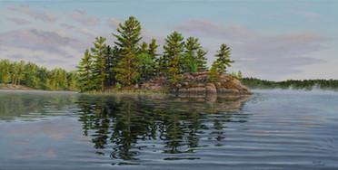 Island on Spider Lake