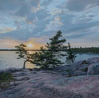 Sunrise at Harold's Point 2020