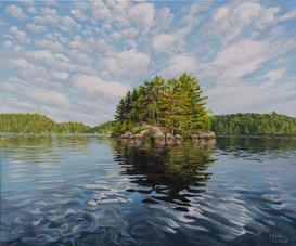 Gull Island, Lake Vernon
