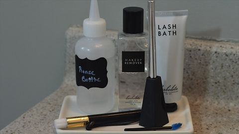 How to Cleanse Your Lashes