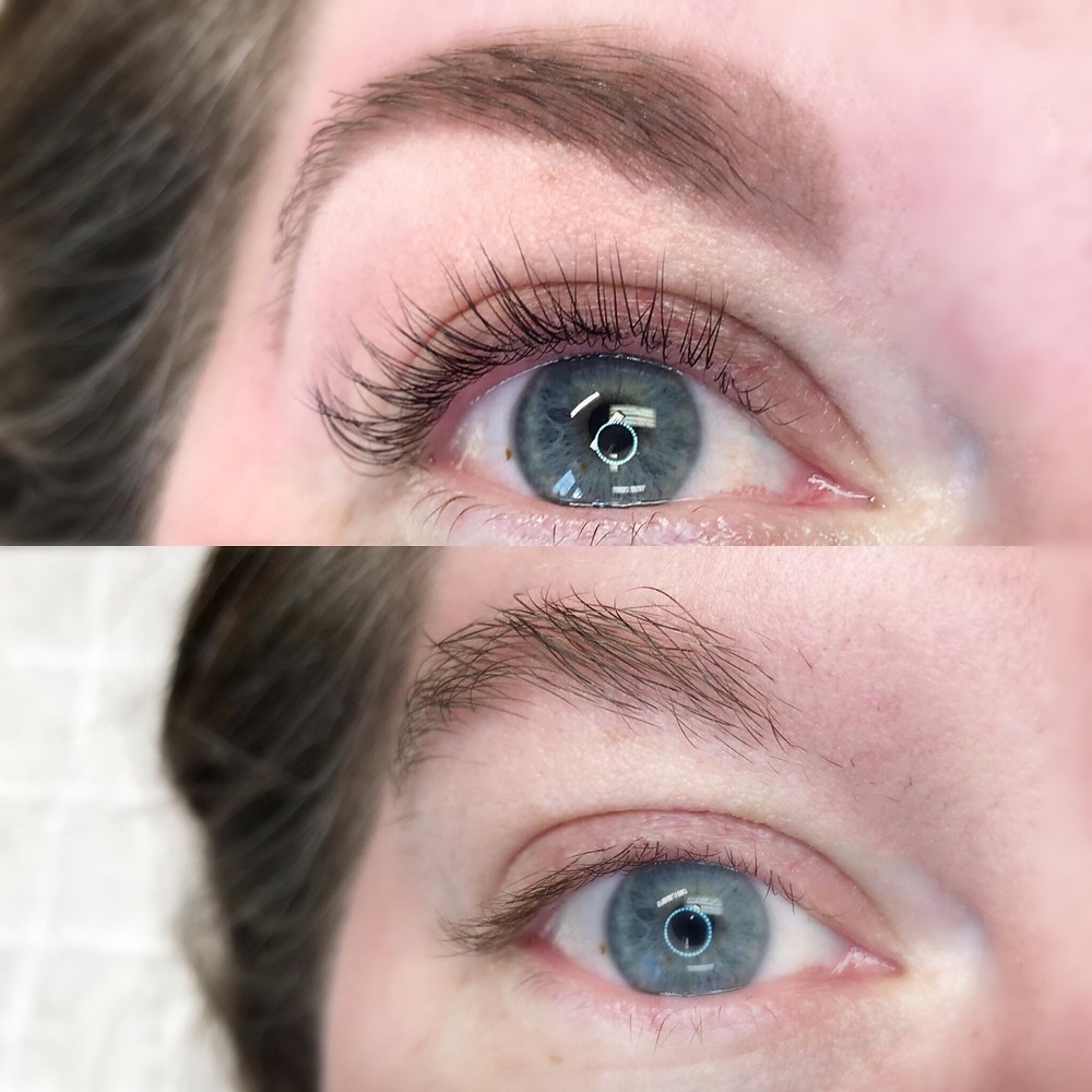Before & After Lash Lift Procedure