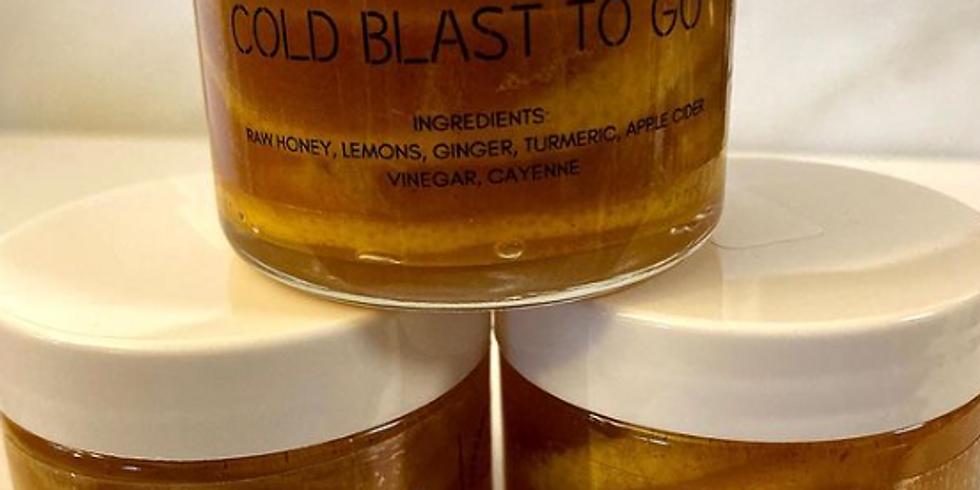 Cold Blast to GO- Malicka Bakes