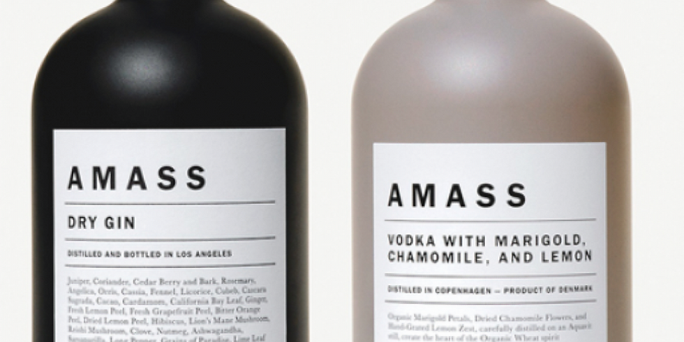 AMASS GIN & Vodka
