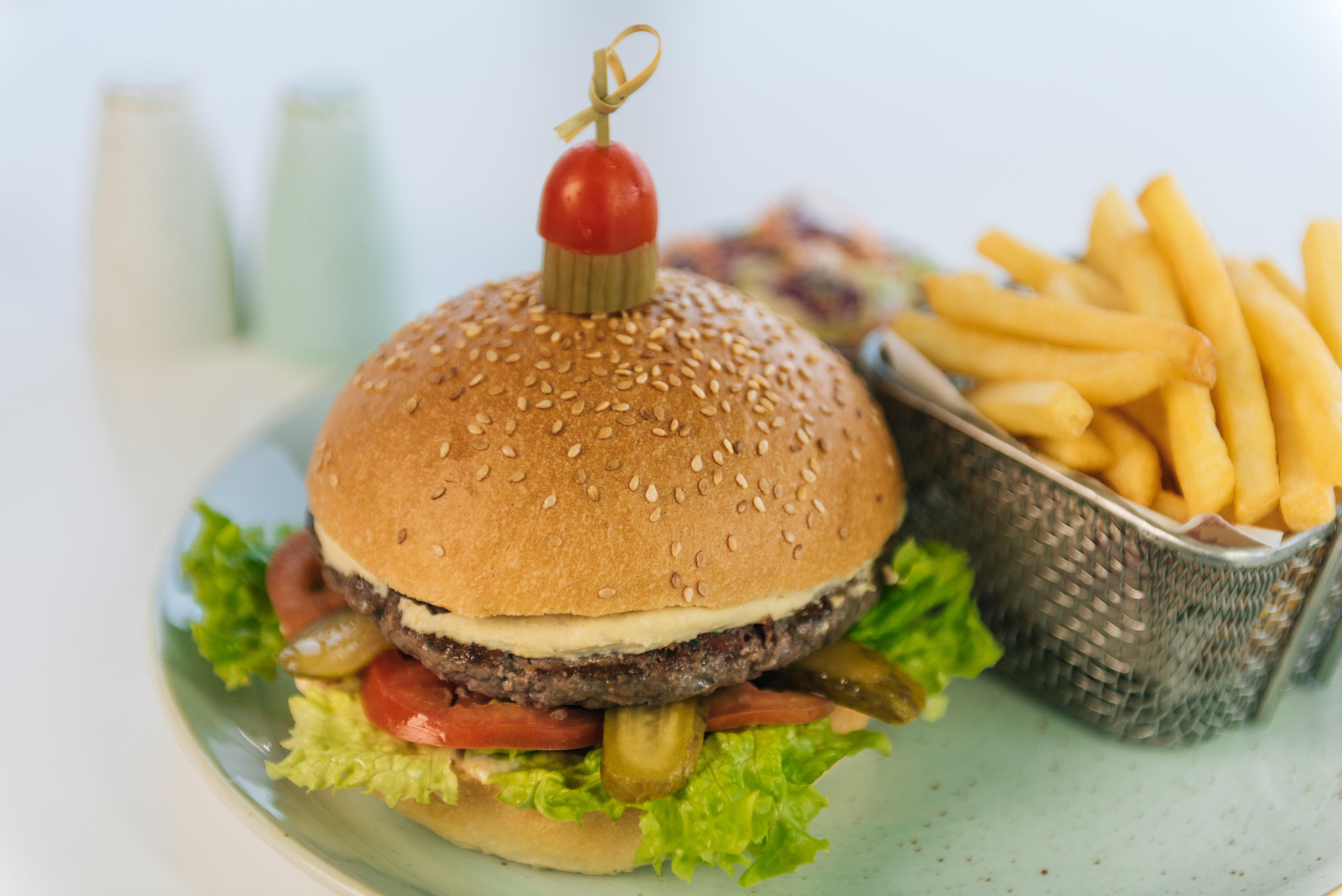 Kofta Burger