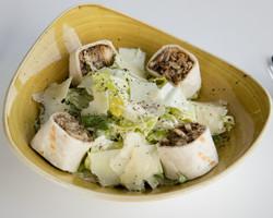 Caesar Salad with Chicken Musakhan
