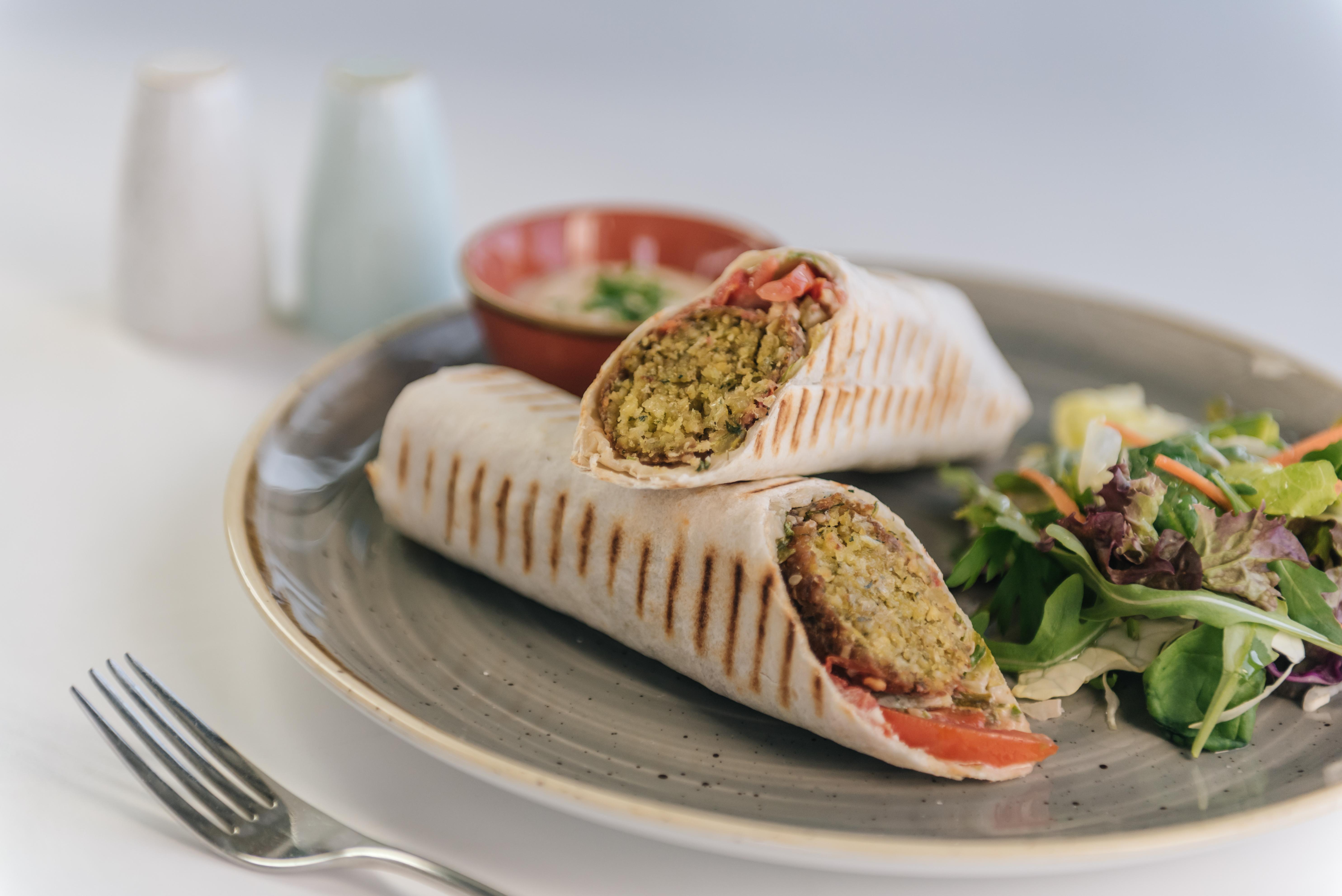 999 Falafel Wrap