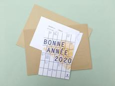 Carte de vœux - Architecte